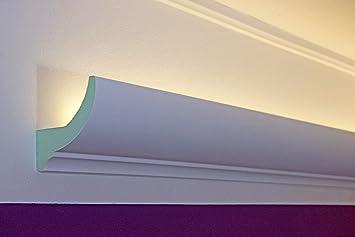 Fabulous LED Stuckleisten für indirekte Beleuchtung der Decke - Lichtvouten QF18