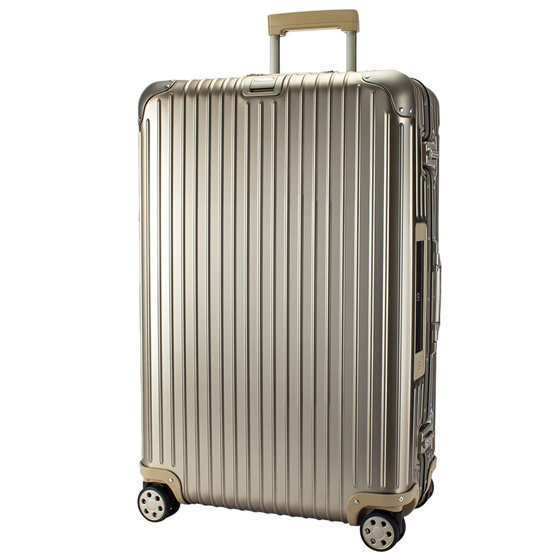 【E-Tag】 電子タグ リモワ RIMOWA [ トパーズ チタニウム ] 924.70.03.5 Topas Titanium スーツケース 4輪 マルチホイール 78L シャンパンゴールド [並行輸入品] B073QP741C