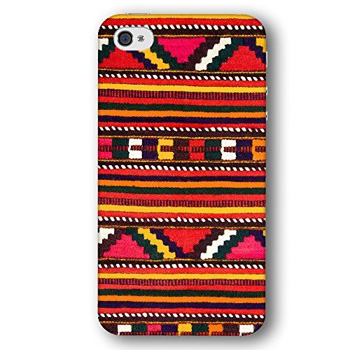 Native American Geometric Patter Carpet Weaving Apple iPhone 4 / 4S Phone Case