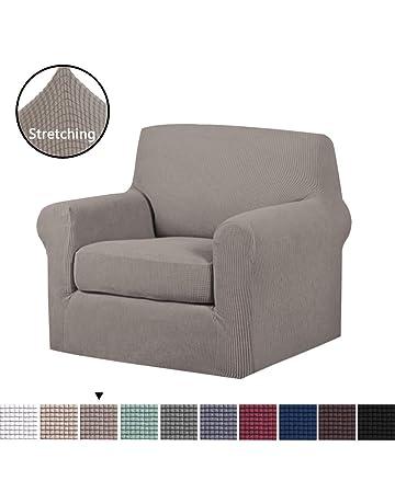 H.VERSAILTEX 2-Piece Soft Spandex Jacquard Sofa Slipcover Furniture Cover  Protector 0e62502d2c