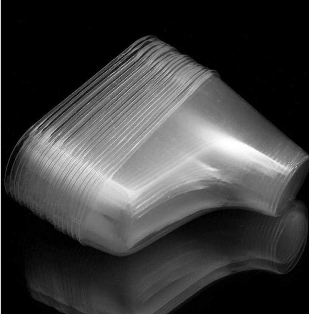 20 Pi/èces//Lot en Plastique Mod/èle Pied Sock Moisissures P/âte Moule B/éb/é Fondant Bottillons Extrusion Afficher Chaussures Cadeau Paires en Plastique Transparent Pieds B/éb/é Afficher