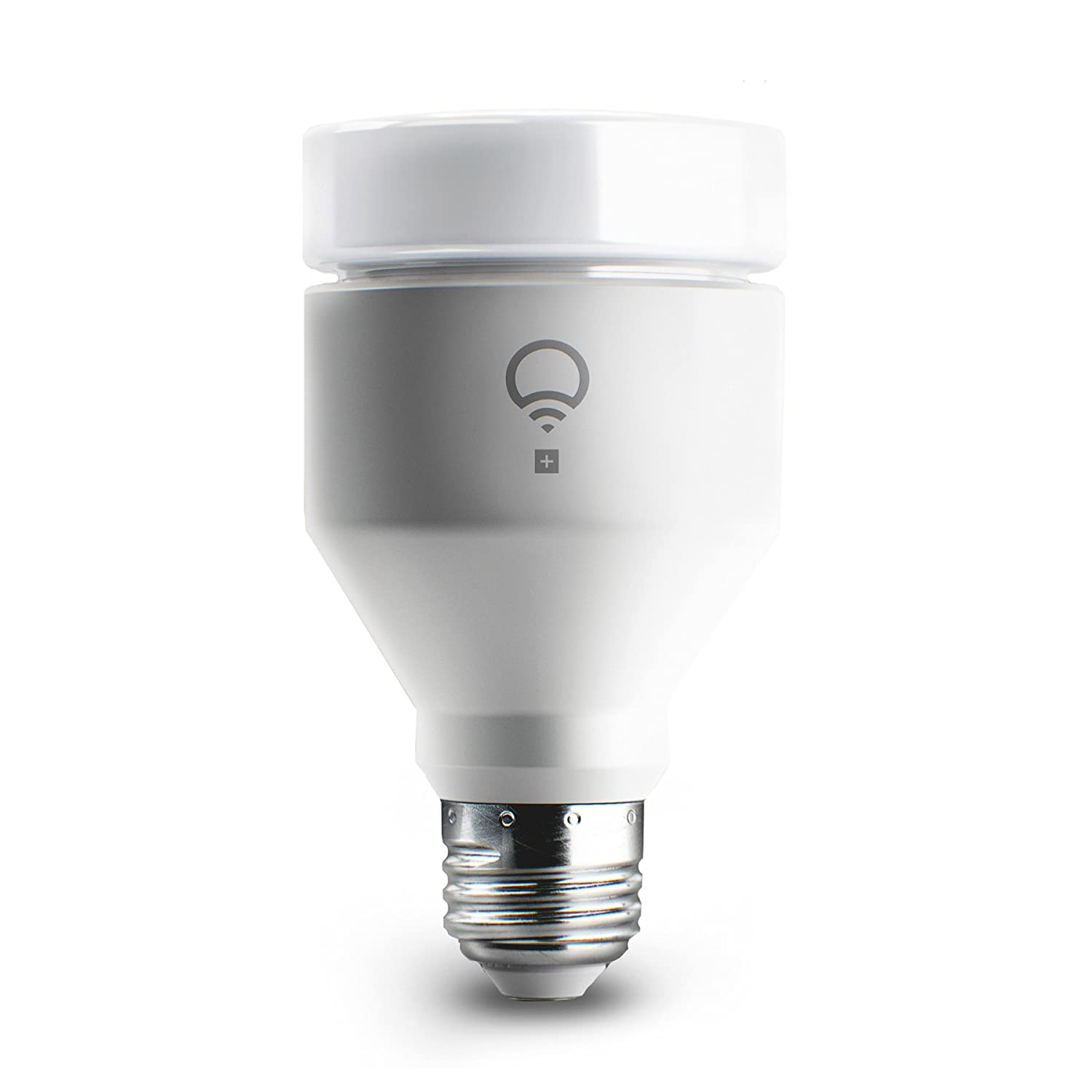 LIFX + (A19) Wi-Fi Smart LED Light Bulb with Infrared for Night ...