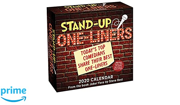 Best Stand Up Comedians 2020 Stand Up One liners 2020 Day to Day Calendar: Today's Top
