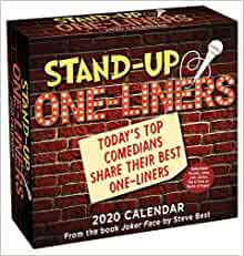 Best Comedians 2020 Stand Up One liners 2020 Day to Day Calendar: Today's Top