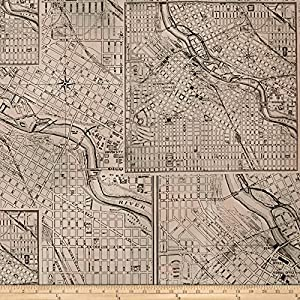 Amazon tim holtz dapper street maps black fabric by the yard tim holtz dapper street maps black fabric by the yard gumiabroncs Choice Image