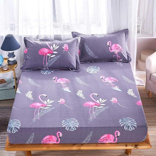 RESUXI Funda colchon 150x200,Hogar Textil Algodón Impermeable De ...