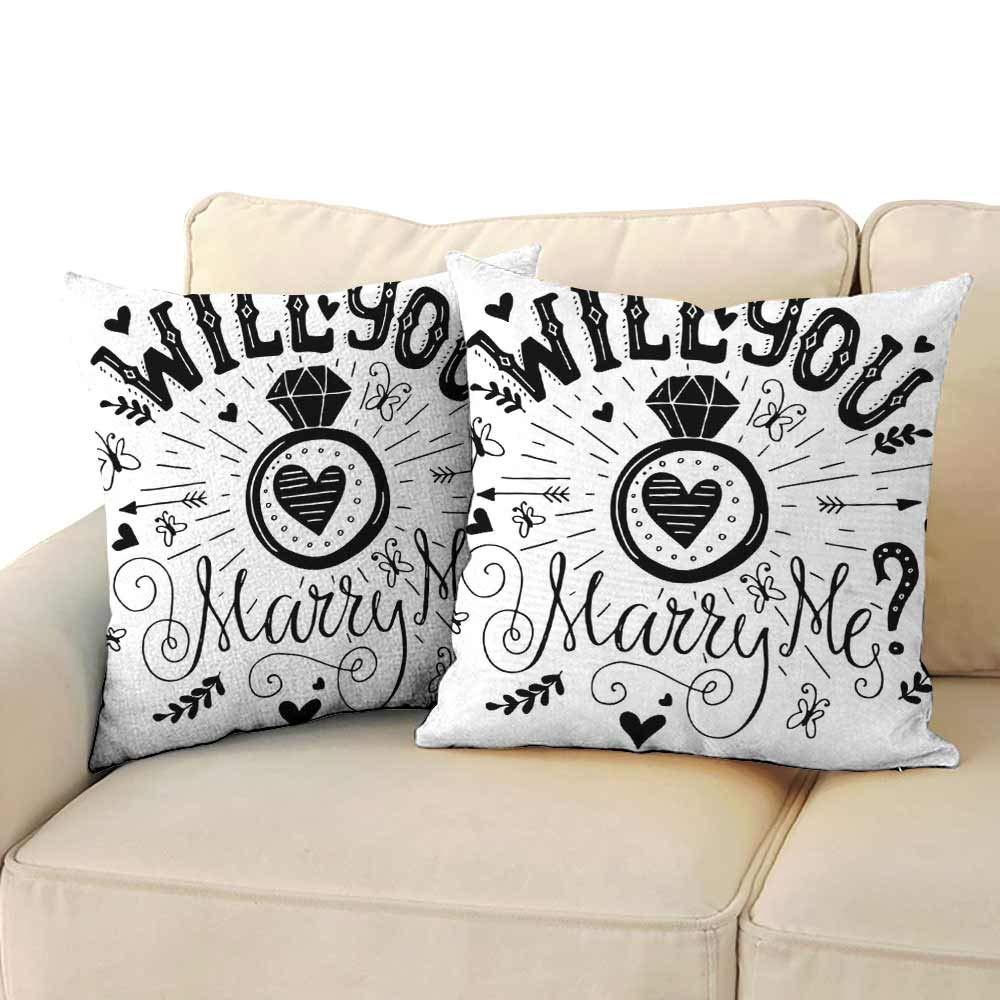 Amazon.com: Living Room Sofa Hug Pillowcase Engagement Party ...