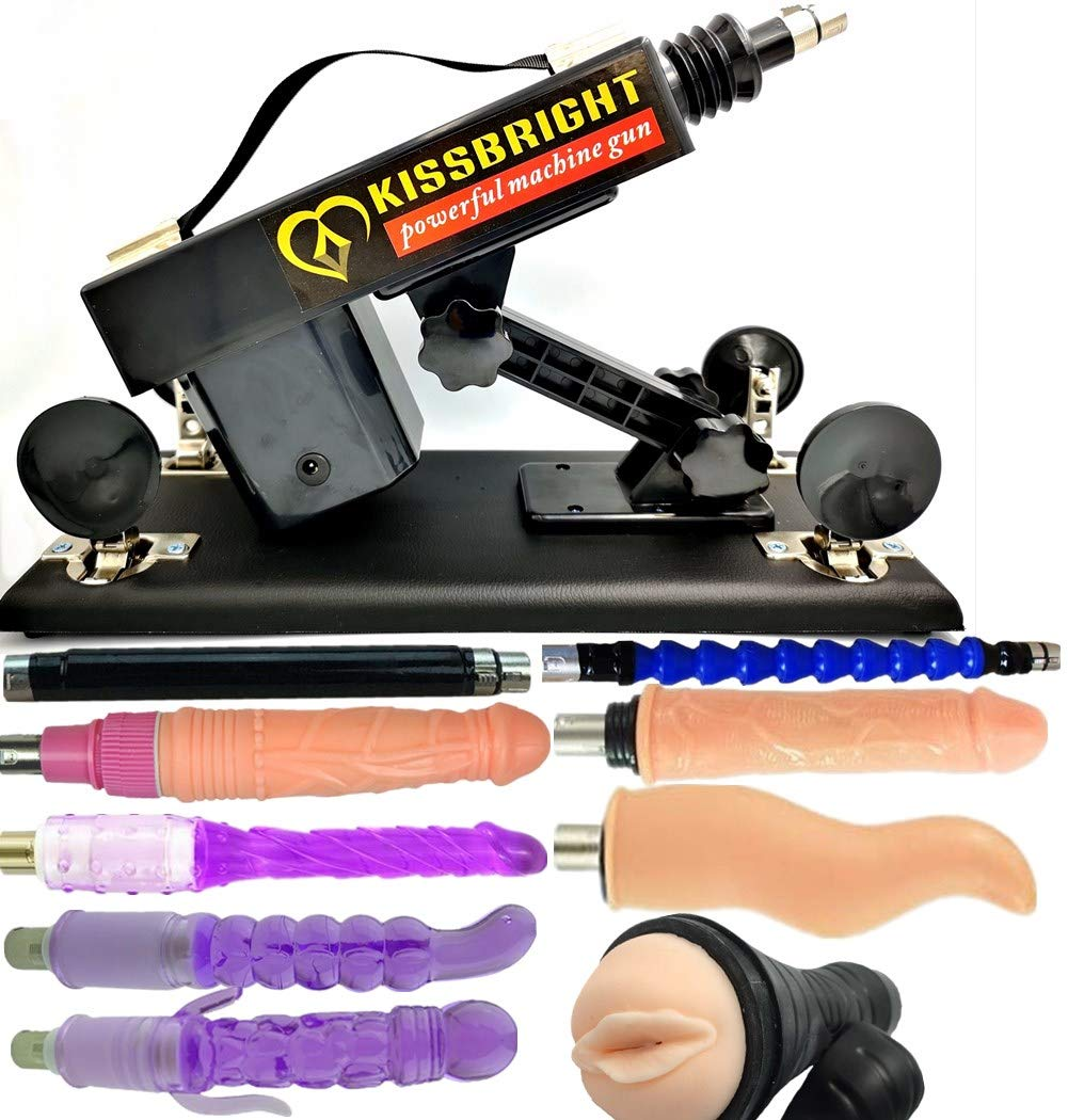 Electric Massage Kits Thrusting & Pumping Adult Machine with Various Attachments