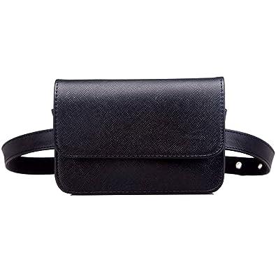 6ceb66164f6b ウエストバッグ レディース ウエストポーチ ボディバッグ カジュアル バッグ 鞄 黒 ブラック