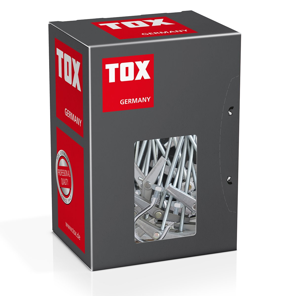 Taco de vuelco TOX 024100171 Spagat N4, 20 unidades