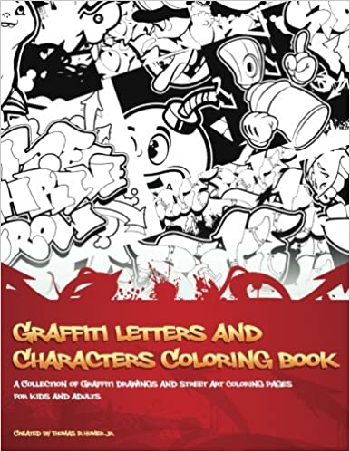 Amazoncom Graffiti Letters And Characters Coloring Book Best
