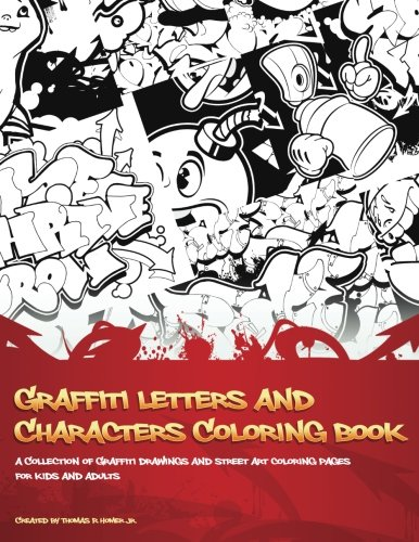 Amazon Com Graffiti Letters And Characters Coloring Book