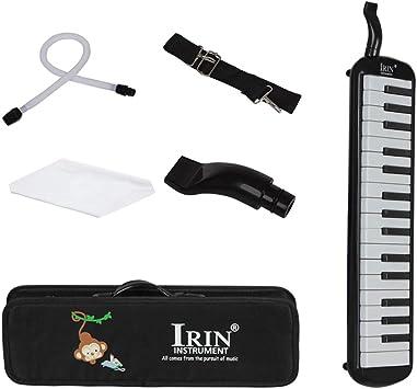 Baoblaze 32 Piano Keys Melodica Instrumento Musical con Estuche para Principiantes Regalo de Niños - Negro: Amazon.es: Juguetes y juegos