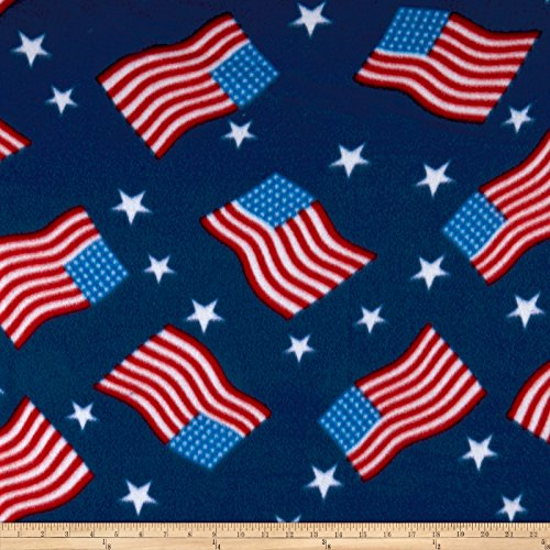 Newcastle Fabrics Polar Fleece Flag, Royal