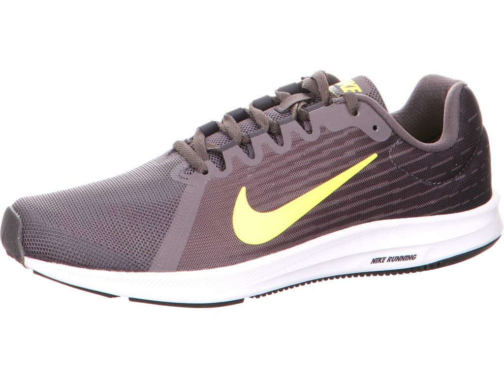 Nike Downshifter 8, Zapatillas de Deporte para Hombre 47.5 EU|Gris (Thunder Grey/Dynamic Yellow-oil Grey 010)