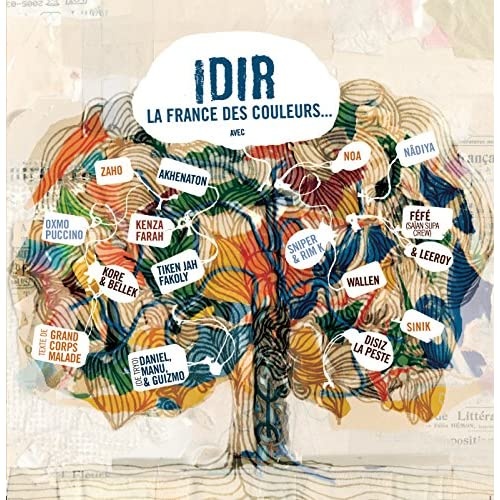 idir la france des couleurs mp3