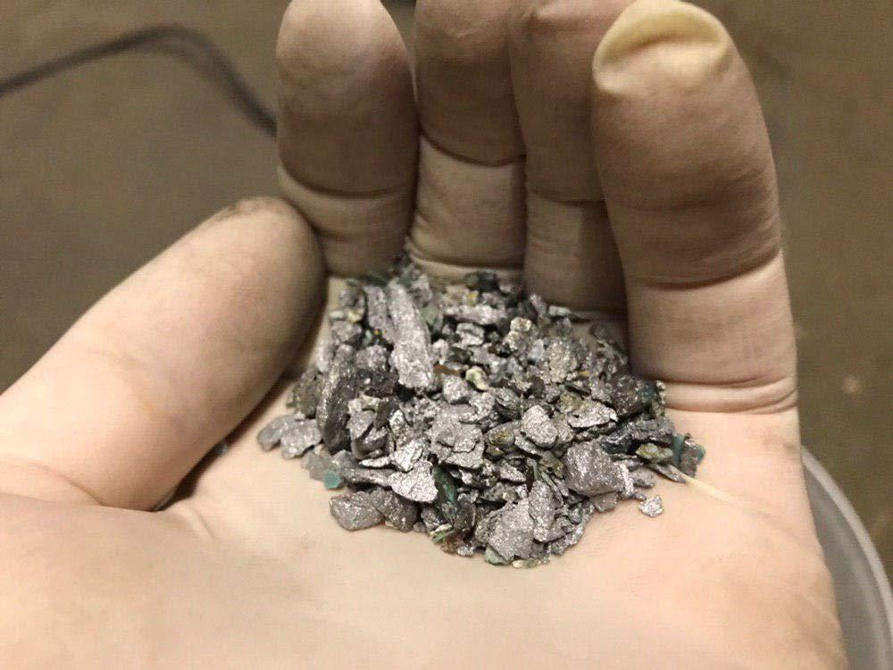 1kg//2.2lb Bismuth Metal Ingot  99.99/% Pure Crystals Geodes For Bismuth Crystals