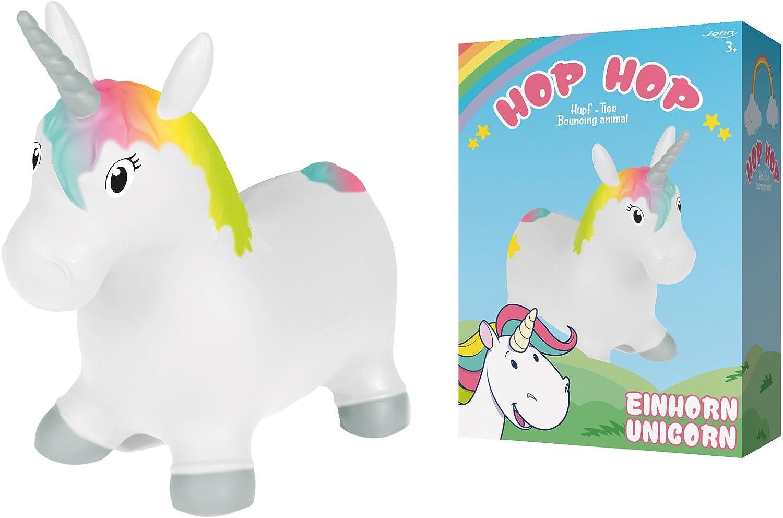 John Sprung cavallo unicorno Hop Hop huepf Pony Unicorn 55