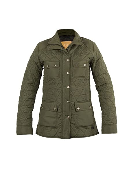 Amazon Sts Ranch Wear Womens Sts Ranchwear Olive Quilted Jacket