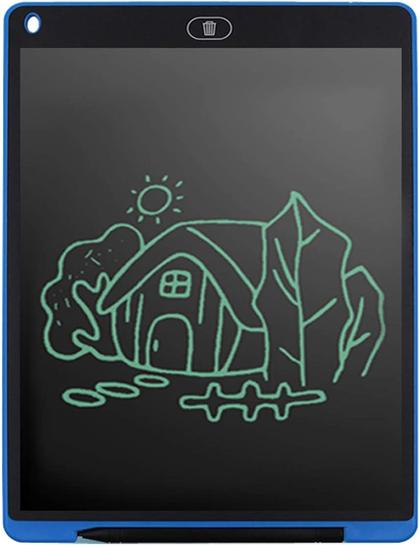 Blue LCD Handwriting Board Painting Board Electron Light Fluorescence 12-inch Writing Board