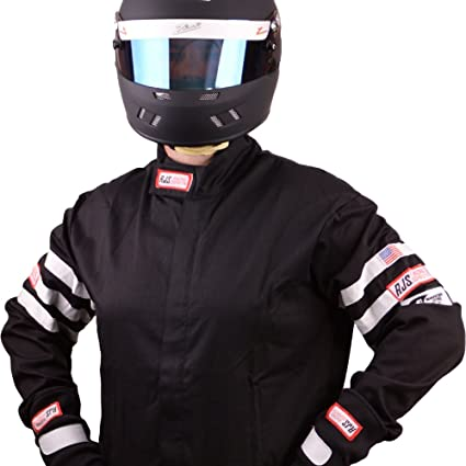 Racing Fire Suits >> Amazon Com Rjs Racing Fire Suit Racing Jacket Black White
