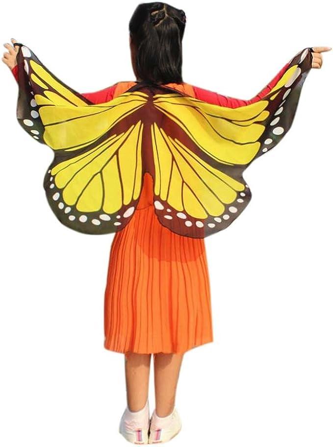 Disfraz para Mujer/Niños, Xinantime Alas de Mariposa Volando Hada ...