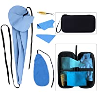 Luvay Saxophone Cleaning Care Kits with Case (EVA Box) for Clarinet Flute and Wind & Woodwind Instrument