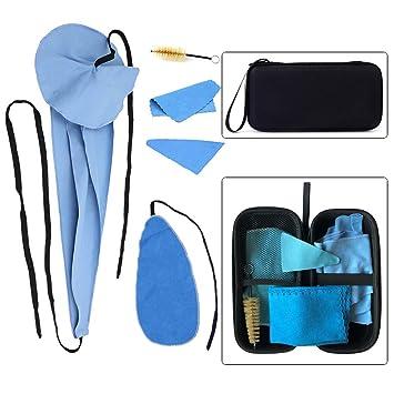 Amazon.com: Luvay Saxophone Kit de cuidado de limpieza con ...