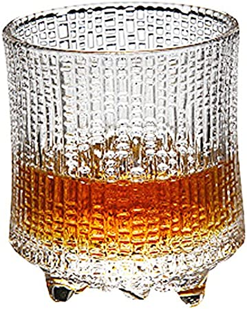 Black Temptation Liqueur & Spirits Glass, Old Fashioned Glass Whiskey Glass,Wine Glass,300ml #16
