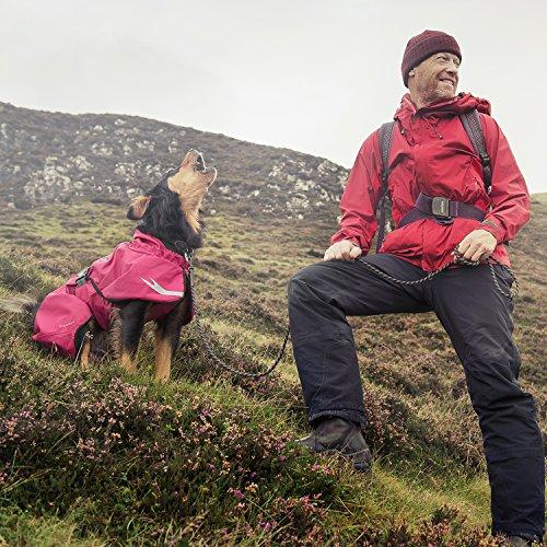Pictures of Hurtta Torrent Coat Dog Raincoat Raven 20 in HU931866 5