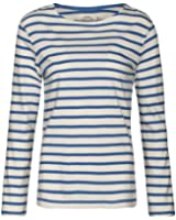 8aba1a19 Seasalt Womens Sailor Shirt in Breton Ecru Night: Amazon.co.uk: Clothing
