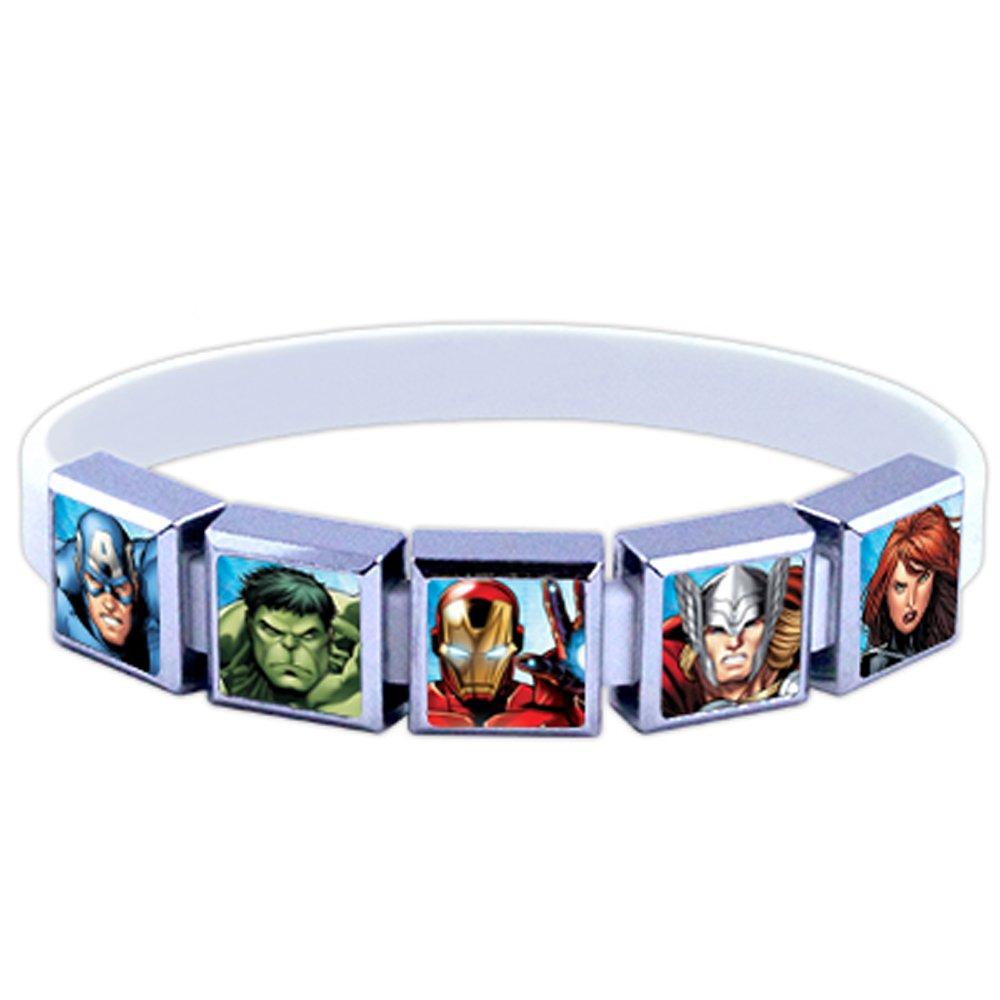Roxo Avengers Assemble 5 Charm Set with Bracelet, Medium by ROXO