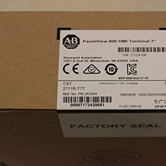 1PC New in box AB ALLEN BRADLEY 2711R-T7T PanelView 800 7