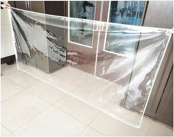BAIYING Lona Alquitranada Funda Pérgola De Coche Crema Hidratante Carnosa PVC Engrosado Hebilla De Metal A Prueba De Polvo Anti-envejecimiento, 21 Tallas (Color : Claro, Size : 2x6m): Amazon.es: Hogar