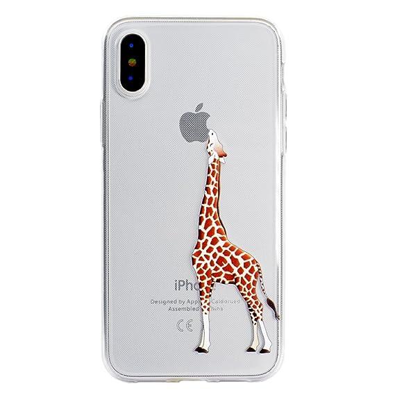 more photos 29ec5 08d65 Amazon.com: iPhone X Case,iPhone X Clear Case, Alkax Clear Cute ...