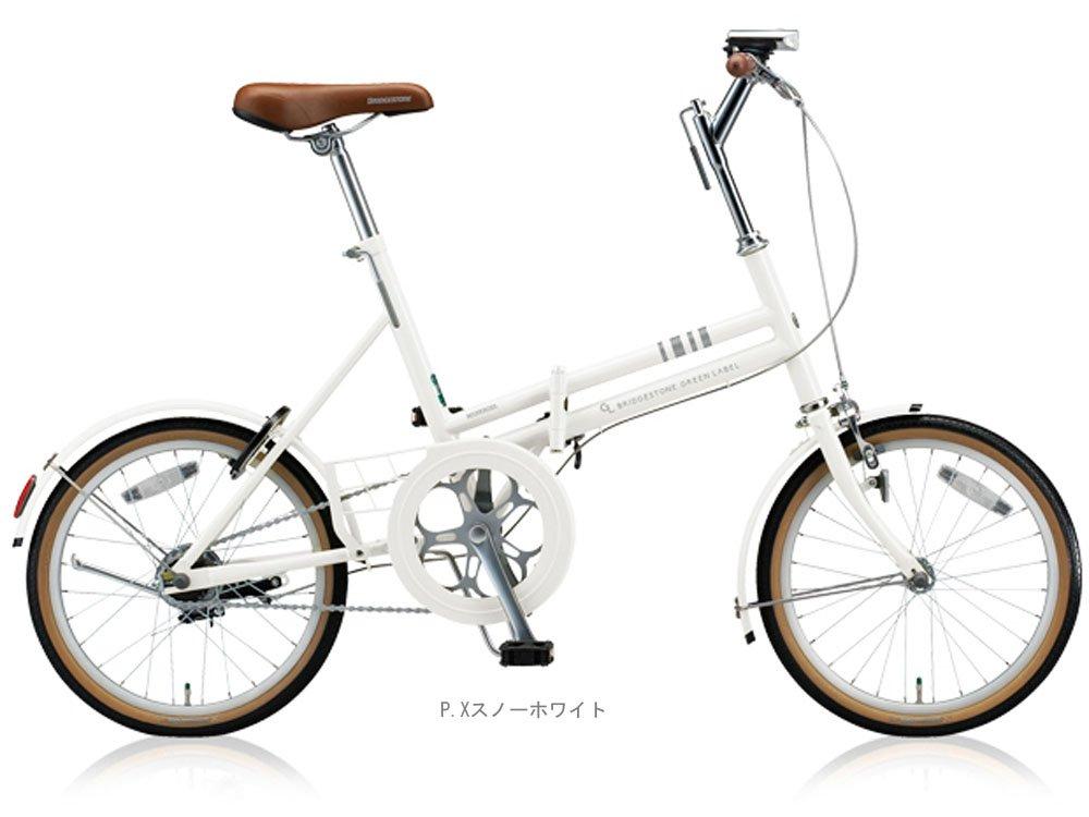 ブリヂストン(BRIDGESTONE) 2018 マークローザF(シングル)18インチ MRF81 折りたたみ自転車 PXスノーホワイト 5102 B077P5N912