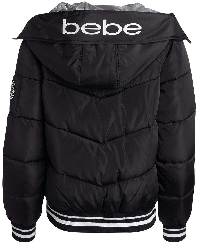 BEBE SPORT Women/'s Midweight Bubble Bomber Puffer Jacket