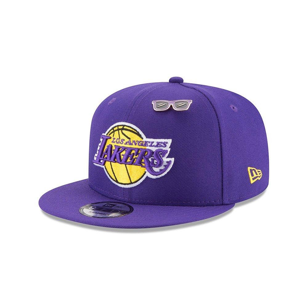uk availability 15ed6 6f9b9 Amazon.com   New Era Los Angeles Lakers 2018 NBA Draft Cap 9FIFTY Snapback  Adjustable Hat- Purple   Sports   Outdoors