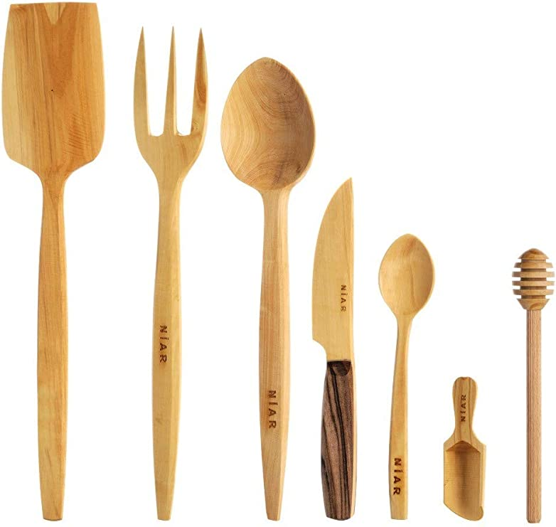 Wooden Spoon Spatula for honey