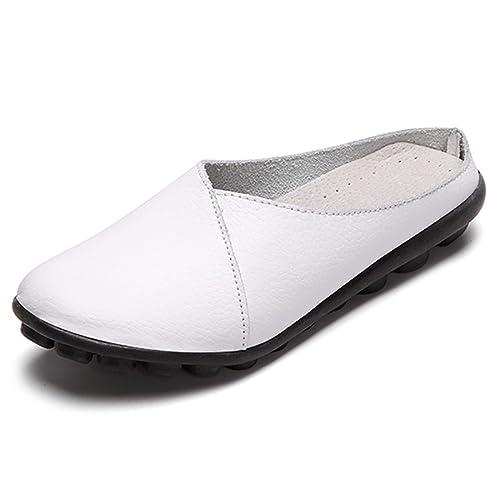 Gracosy Zapatillas Para Mujer Casual Zapatillas Para Caminar Sandalias Al Aire Libre Antideslizantes Zapatillas de Malla Transpirables de Verano Slip-On ...