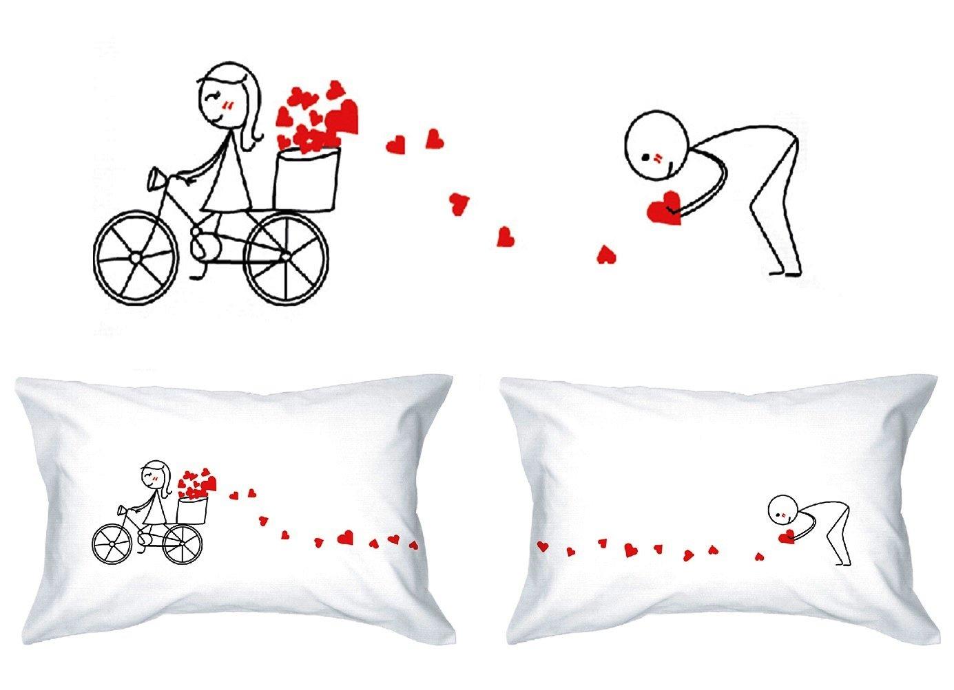 Favori Human Touch, PISTA DI AMORE - Lui & Lei - federe - il romantico  GZ57