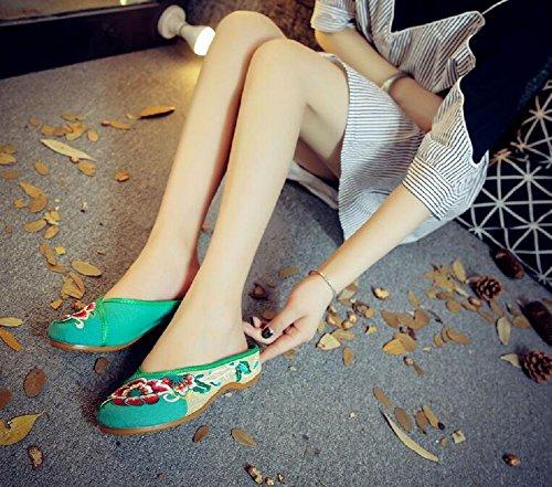 Verde Donna Lazutom Donna Pantofole Pantofole Lazutom Verde Pantofole Lazutom Donna Verde qw7xtwCU