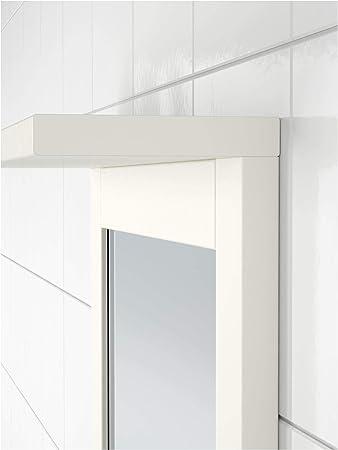IKEA 302.680.02 Silverån Espejo con Estante, Color Blanco: Amazon.es: Hogar