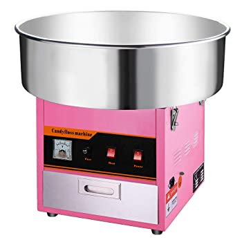 Clevr Pink Large Commercial Cotton Candy Machine