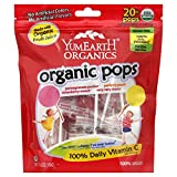Lollipops, 95% organic, Fruit, 20+, 4.2 Oz (pack of 12)