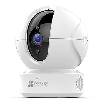 EZVIZ Cámara camaras de vigilancia WiFi Interior 720p Compatible con Alexa y Google Home visión Nocturna Seguimiento de Movimiento y Audio bidireccional ...