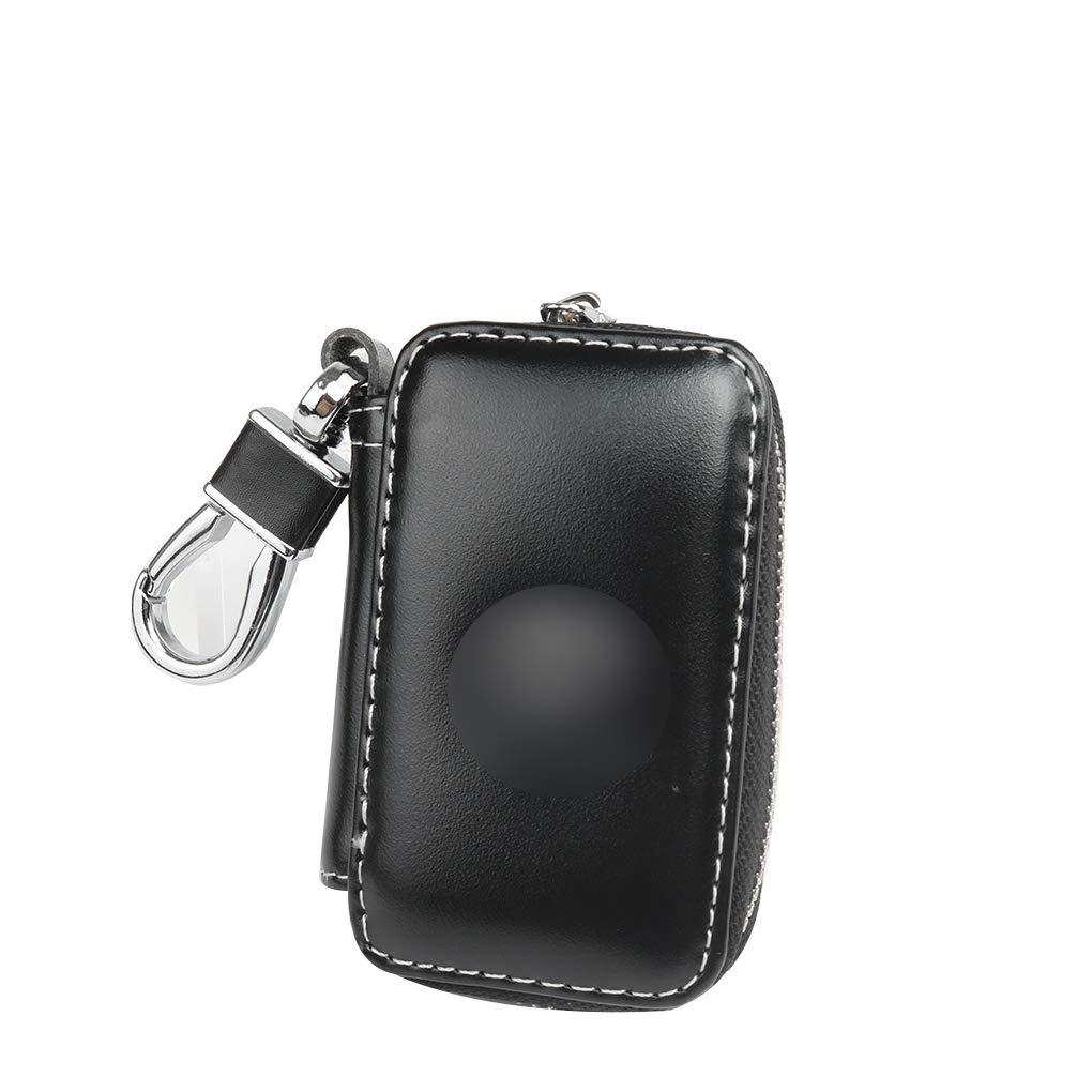 Mengonee Leather Holder Organizzazione Car Key Bagagli Hanging Raccoglitore Chiave della Borsa di Caso di Chiavi Borse Catena per Honda Volkswagen Buick
