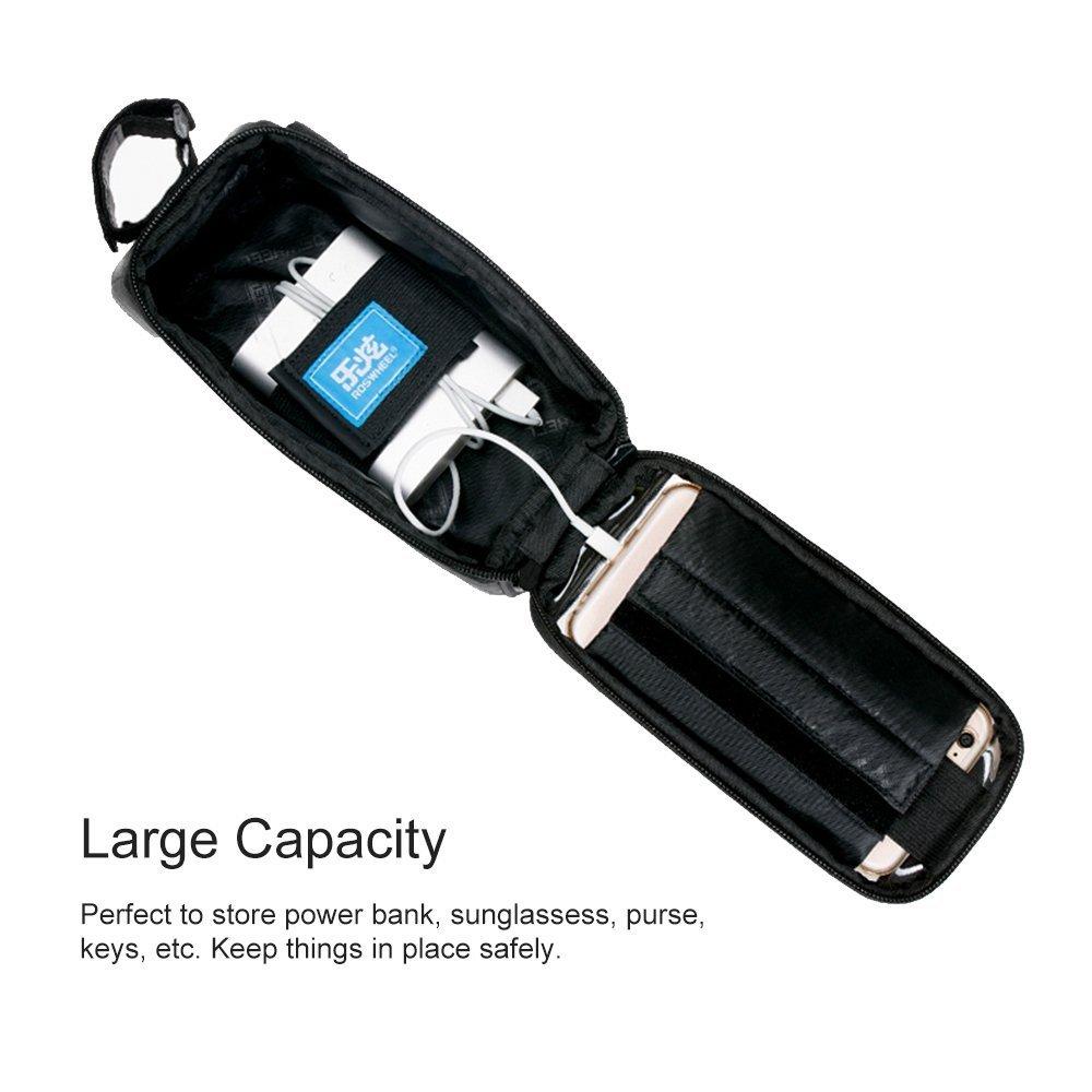 Roswheel ieGeek Frame Bag lenkertasche Sacoche de vélo avec téléphones de Place pour iPhone 6Plus 6S 65S 5SE Samsung Galaxy S7Edge.