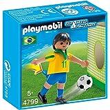 Playmobil - 4799 - Jeu De Plein Air - Joueur Équipe Brésil