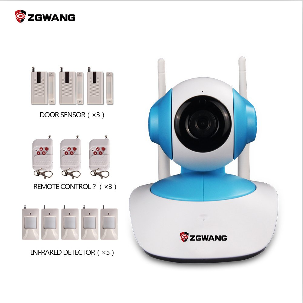 zgwang HD 720P Wifi cámara IP inalámbrica red seguridad para ...